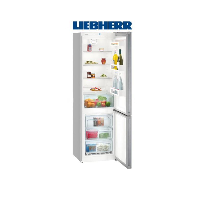 Liebherr CNEL 4813 kombinovaná chladnička/mraznička, NoFrost, nerez, A++ + Akce 5 let záruka zdarma
