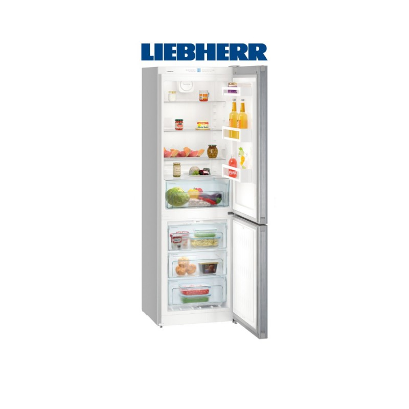 Liebherr CNEL 4313 kombinovaná chladnička/mraznička, NoFrost, nerez, A++ + Akce 5 let záruka zdarma