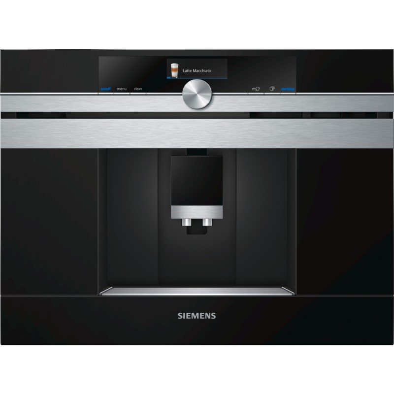 Siemens CT636LES6 vestavný kávovar, Home Connect