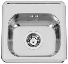 Sinks Sinks BAR 380 V 0,7mm leštěný