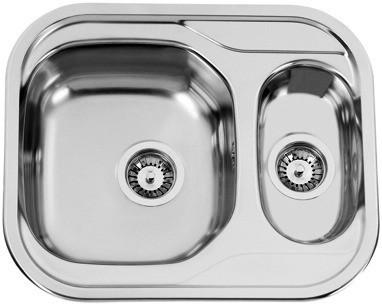 Sinks Sinks SKYPPER 600.1 V 0,7mm leštěný