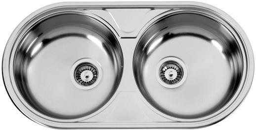 Sinks Sinks DUETO 847 V 0,6mm texturovaný