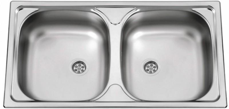 Sinks Sinks OKIO 780 DUO V 0,5mm leštěný