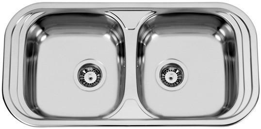Sinks Sinks SEVILLA 860 DUO V 0,6mm matný