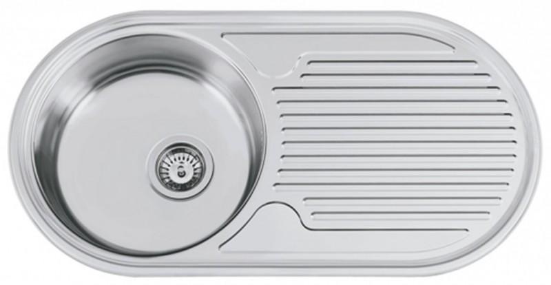 Sinks Sinks SEMIDUETO 847 V 0,6mm leštěný