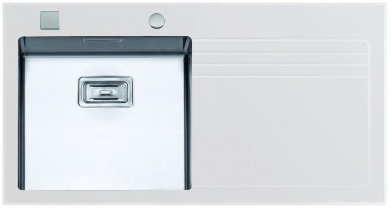 Sinks Sinks GLASS 1000 bílý levý 1,2mm