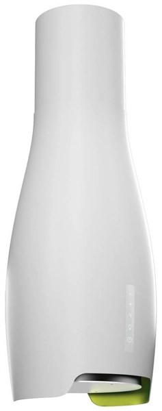Kluge KOI4010WH Drop white odsavač ostrůvkový, 43,5 cm