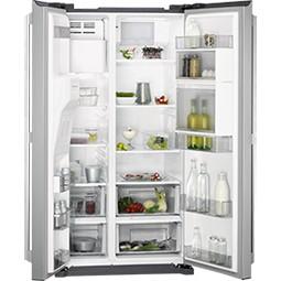 AEG RMB66111NX americká lednice