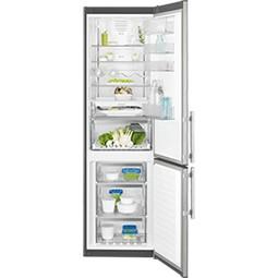 Electrolux EN3790MOX volně stojící kombinovaná chladnička