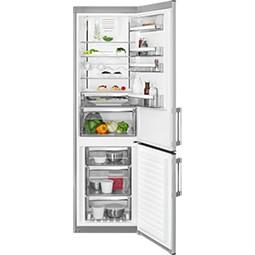 AEG RCB63726OX volně stojící kombinovaná chladnička