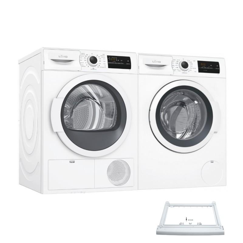 Lord W2+T1+SK2 set spotřebičů - pračka, sušička prádla, spojovací mezikus