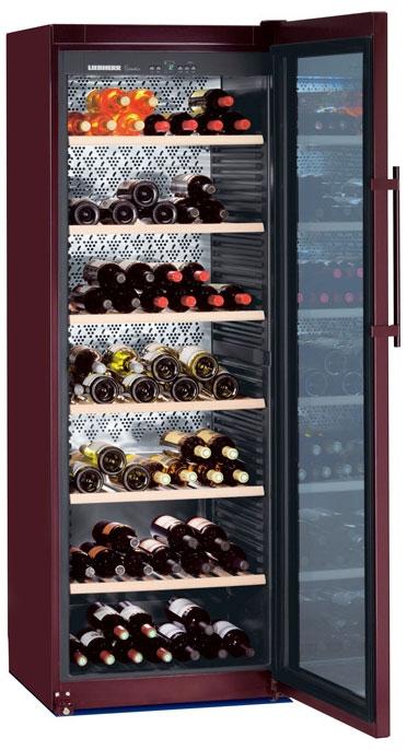 Liebherr WKt 5552 GrandCru, volněstojící vinotéka, hnědá + Akce 5 let záruka zdarma