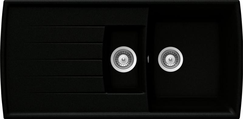 Schock Lotus D-150 CRISTADUR Puro granitový dřez spodní montáž