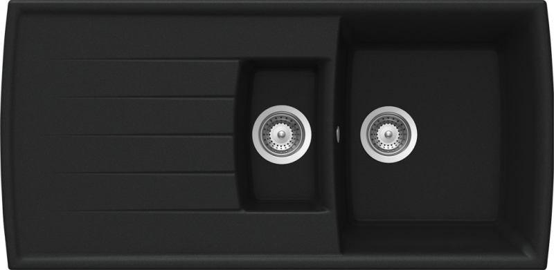 Schock Lotus D-150 CRISTADUR Magma granitový dřez spodní montáž