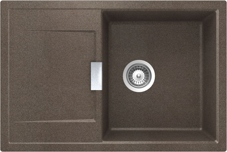 Schock Mono D-100 CRISTADUR Bronze granitový dřez horní montáž