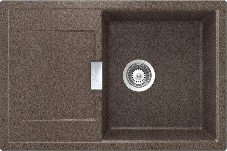 Schock Mono D-100 CRISTADUR Bronze granitový dřez spodní montáž