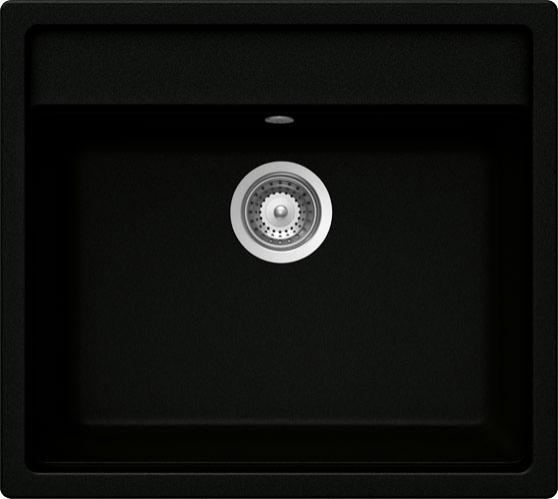 Schock Mono N-100 CRISTADUR Puro granitový dřez horní montáž