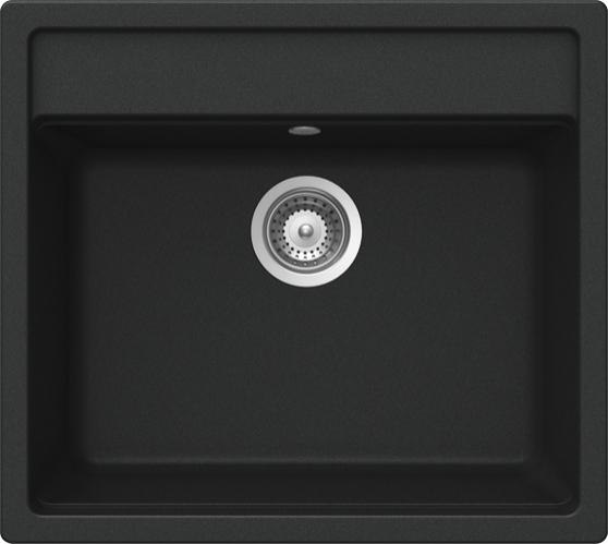 Schock Mono N-100 CRISTADUR Magma granitový dřez horní montáž
