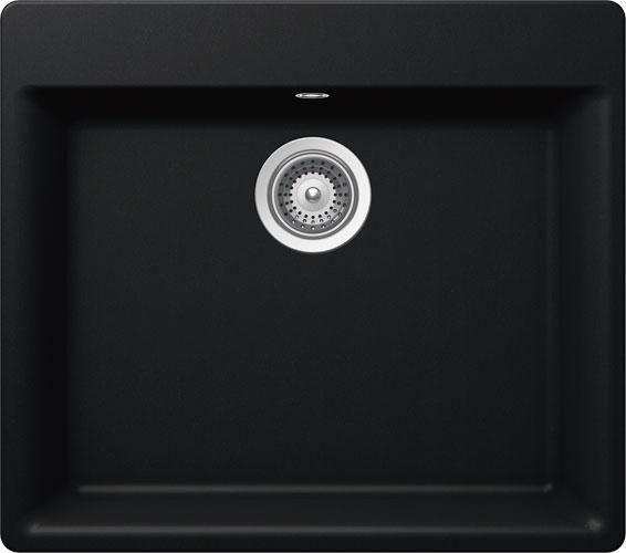 Schock Mono N-100L CRISTADUR Puro granitový dřez horní montáž