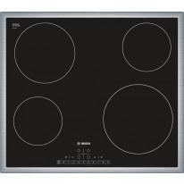 Bosch PKE645F17E nerez plošný rám sklokeramická deska, 60 cm