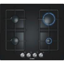 Bosch PPP616B81E vestavná plynová deska 60 cm tvrzené sklo černá
