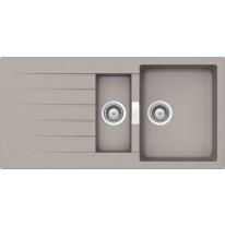 Schock Primus D-150 CRISTALITE+ Beton granitový dřez horní montáž