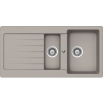 Schock Typos D-150 CRISTALITE+ Beton granitový dřez horní montáž