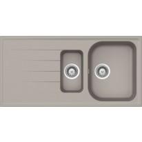 Schock Viola D-150 CRISTALITE+ Beton granitový dřez horní montáž