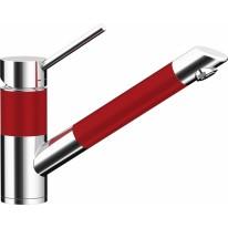 Schock 592000CDROU SC-200 cristadur Rouge kuchyňská baterie pevná hubice