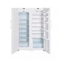 Liebherr SBS 7212 Comfort, americká lednice, NoFrost , nerez, 5 let záruka