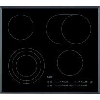 AEG Mastery HK654070FB elektrická varná deska se zkosenou hranou, černá, šířka 58 cm