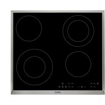 AEG Mastery HK634021XB elektrická varná deska s rámečkem, černá, šířka 58 cm