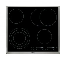 AEG Mastery HK654070XB elektrická varná deska s rámečkem, černá, šířka 58 cm