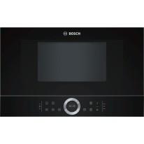 Bosch BFL634GB1 vestavná mikrovlnná trouba, levý závěs, černá