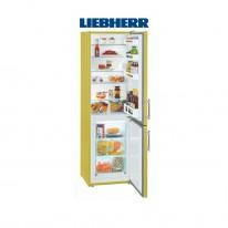 Liebherr CUag 3311 kombinovaná chladnička ColourLine, žlutá