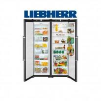 Liebherr SBSbs 7263 americká lednička, BlackSteel + Akce 5 let záruka zdarma