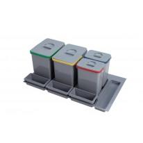 Sinks PRACTIKO 900 2x15l+2x7l