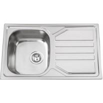 Set Sinks Sinks OKIO 800 V 0,7mm matný + Sinks VENTO 4 S lesklá