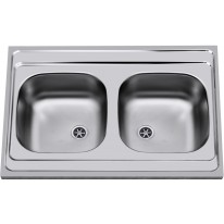 Sinks CLP-A 800 DUO M 0,5mm matný