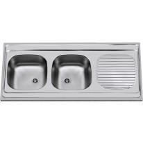 Sinks Sinks CLP-A 1200 DUO M 0,6mm matný