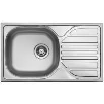 Set Sinks Sinks COMPACT 760 M 0,5mm matný + Sinks VENTO 4 S lesklá