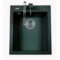Sinks CUBE 410 Metalblack