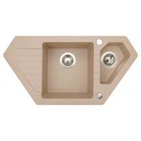 Set Sinks BRAVO 850.1 Beige+VENTO 4S
