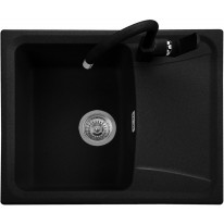 Set Sinks FORMA 610 Metalblack+MIX 350P