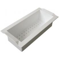 Sinks Sinks cedník BOX plast bílá