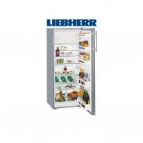 Liebherr Ksl 2814, chladnička s mrazákem, stříbrná