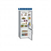 Liebherr CUsl 2811 kombinovaná chladnička, stříbrná
