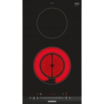 Siemens ET375FFB1E sklokeramická deska Domino, černá, 30 cm