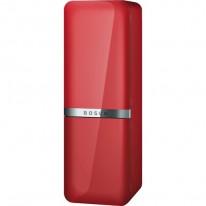 Bosch KCE40AR40 chladnička/mraznička, wine red metallic