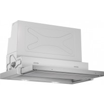 Bosch DFR067A50 plochý výsuvný odsavač par, stříbrná metalíza, 60 cm